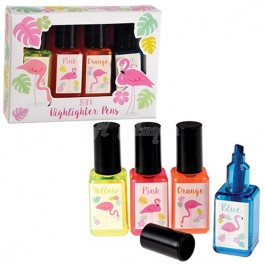 Flamingo Bay Nail varnish highlighters (Set of 4 colour) S2R2C1