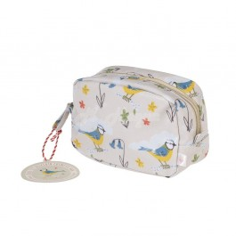 Blue Tit Make Up Bag