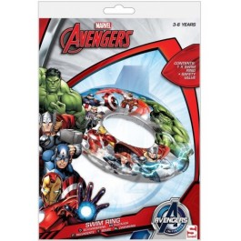 "Official Marvel ""Avengers"" Character Inflatable Swim Ring"