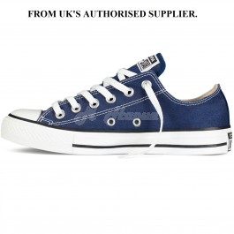 Converse Unisex Chuck Taylor All Star Ox Navy Basketball Shoe UK 3.5, EUR: 36 and 3.5 Men US / 5.5 Women US