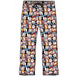 Men's Official Disney Dwarf Grumpy Character Lounge Trouser Pant-s
