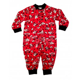 Girls Disney Minnie Mouse Character All-In-Ones Pyjamas set or nightwear suit-12 - 18 Months B1