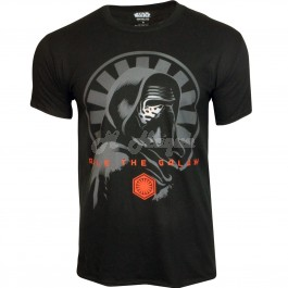 """Men's Official Disney Star Wars """"Rule The Galaxy"""" EP7 Character T Shirts B11, 15-s"""