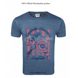 Men's Official Marvel Captain America Character T-Shirt-s B10