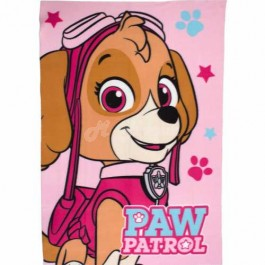 "PAW Patrol Official Skye ""Stars"" Character Fleece Blanket Snuggle Throw"