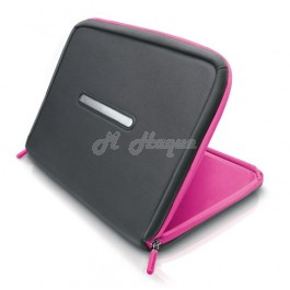 "Philips SLE2100PN Notebook Sleeve with HeatProtect 26 cm (10.2""), Magenta/Grey"