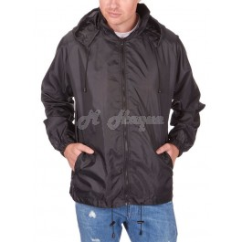 Adults Lightweight Shower Proof Kagool Jackets (BLACK) by Protonic b-10,9, 19