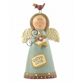 Sister Love Angel Decoration 13cm figurine S2R1C4, B21
