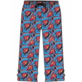 "Men's Official DC Comics ""Superman"" Character Lounge Pants B12-l"