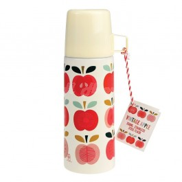 Vintage Apple Flask and Cup  ABS2
