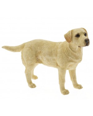 Golden Labrador dog figurine S2R2C1