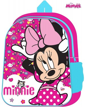 "1029HV-Official Disney ""Minnie Mouse"" Character Junior School Backpack B2- Brand new"
