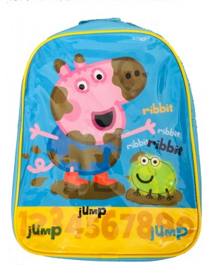 PEPPA001239 Official Peppa Pig Rabbit Character Junior School Backpack B2 - Brand new