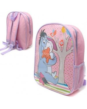 "E29-Official Disney Winnie the Pooh ""Eeyore"" Character Junior School Backpack B2 - Brand new"