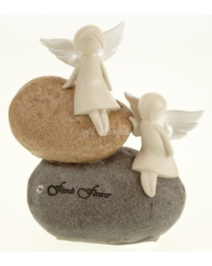 Friends Forever Angel Stone house decor - B20, S2R5C4