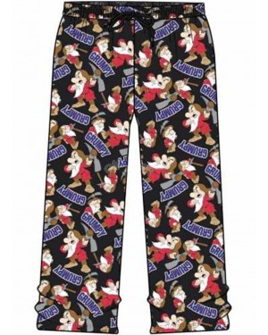 Men's Official Disney Dwarf Grumpy Character Trouser Lounge Pants, B30,32,34-m
