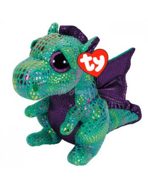 Cinder Dragon Beanie Boo TY soft toy B18
