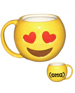 Love Eyes Emoji Mug, B14