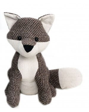 Fox Door stop figurine-brown