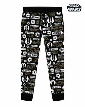 Men's Official Star Wars Character Trouser Lounge Pants B11-Small