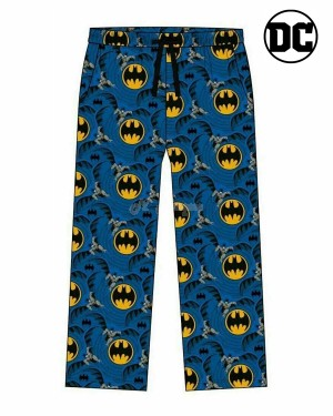 Men's Official Batman Character Trouser Lounge Pants B11-Small