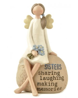 Sisters angel decoration house decor show piece - B48