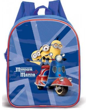 "MIN-8039 Official Despicable Me ""Minions"" Character Junior School Backpack - B28"