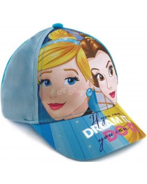 Girls Official Disney Princess Character Baseball Cap B10,26