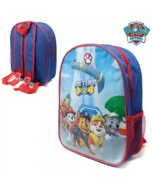 "Official PAW Patrol ""One Team"" Character Junior School Backpack - Brand new & Authentic"