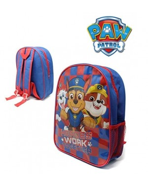 "Official PAW Patrol ""Heroes Work Together"" Character Junior School Backpack - Brand new & Authentic"