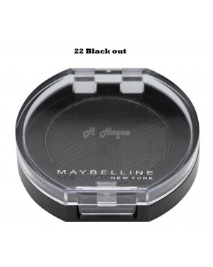 Maybelline Color Show Mono Eye shadow 22 Black Out - Brand new