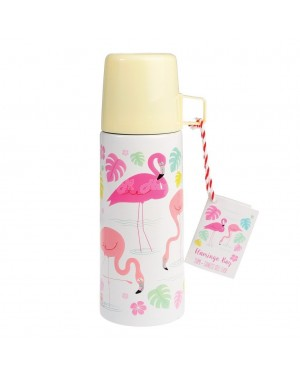 Flamingo Bay Flask and Cup