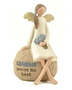 GRANDMA ANGEL DECORATION show piece decor - B48