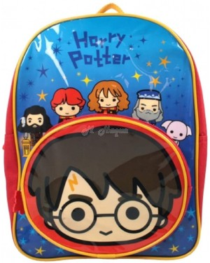 Official Harry Potter Charms Character Junior School Backpack with Front Pocket B2 - Brand new