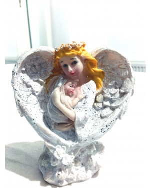 Angel mom with baby decoration S2R2C3