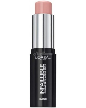 L'Oreal Infallible shaping Blush foundation highlighter in 10 different colour - Brand new.-001 Sexy Flush