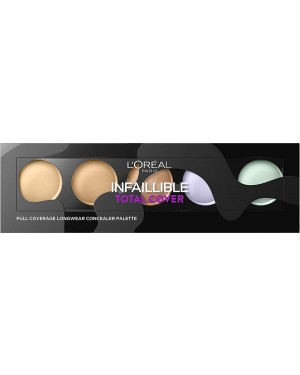 L'Oreal Infallible Total Cover Concealer Palette - Brand new