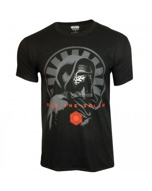 "Men's Official Disney Star Wars ""Rule The Galaxy"" EP7 Character T Shirts B11, 15-m"