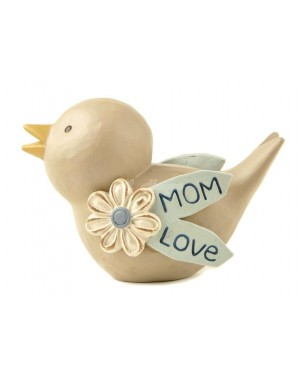 MUM LOVE BIRD DECORATION 8CM show piece decor B48