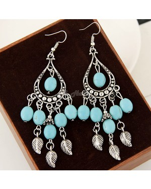 Alloy Turquoise Gorgeous Ear ring - Brand new
