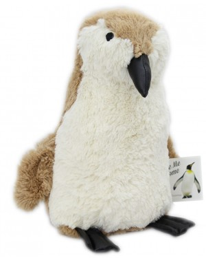 Penguin Doorstop, BROWN house decor -  B19, 11
