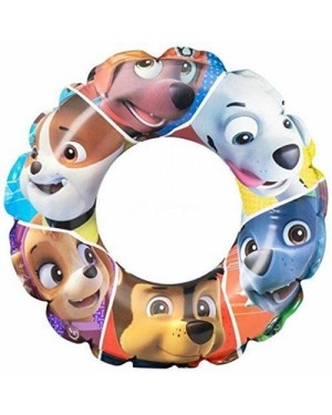 "Official PAW Patrol ""Chase, Marshall & Rubble"" Character Inflatable Swim Ring B35"