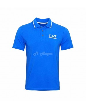 Armani polo shirt  Royal blue SMALL