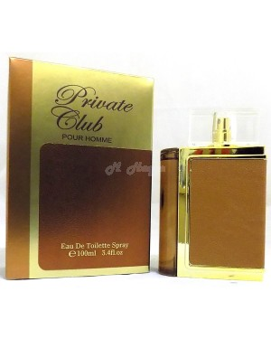 Private Club Pour Homme (Mens 100ml EDT) Saffron perfume B45