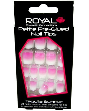 Royal Petite Pre-Glued Nail Tips (NNAI126) Tequila Sunrise B46
