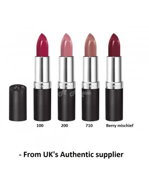 Rimmel Lasting Finish Lipsticks in four different colour Brand new from Original source