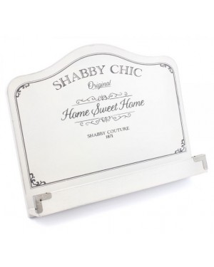 Shabby Chic Recipe Book Stand kitchen decor ABS2