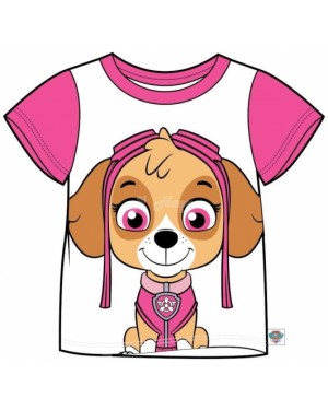 "Official PAW Patrol ""Skye"" Character Cotton T-Shirt - B35"