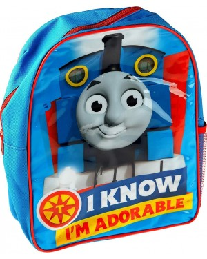 Official Thomas The Tank Engine Character Junior School Backpack B10 - Brand new