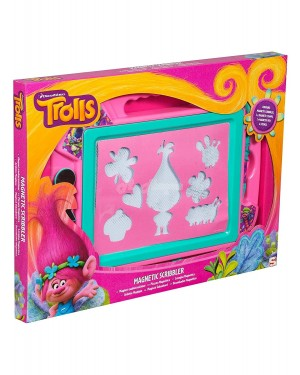 """Official Trolls Character Magnetic Scribbler Drawing Board """"Large"""" educational toy"""